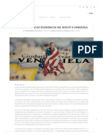 CELAG - Las Consecuencias Económicas Del Boicot a Venezuela (2019)