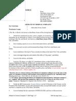 Affidavit of Criminal Complaint IRS2
