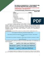 2017 - 01 - Recomendaciones Para El Diagnóstico y Tratamiento Del SDRA