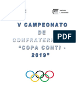 Bases Del Campeonato Deportivo 2019 - Beca 18