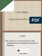 Laser Safety Talk