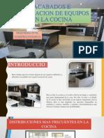 Acabados e Instalacion de Equipos en La Cocina