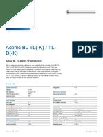 Actinic BL TL