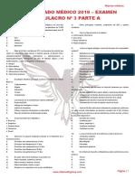 RM 19 - Examen Simulacro 3 A