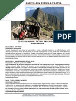 Cusco - Machu Picchu 5dpav