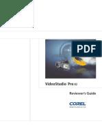 Corel Video Studio Pro X2 Reviewer Guide