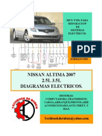 2007 Nissan Altima Diagramas Electricos