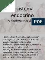 11. El Sistema Endocrino