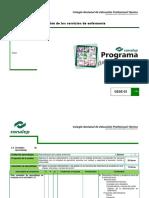 Programa de Estudios Gestión de Los Servicios de Enfermería