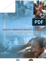 Thailand Migrant Health Program Model (Aug09)