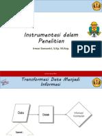 1. Instrumentasi - Pak Irman (31 Okt)