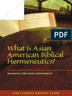 (Intersections_ Asian and Pacific American Transcultural Studies) Tat-Siong Benny Liew - What is Asian American Biblical Hermeneutics__ Reading the New Testament-University of Hawaii Press (2008)