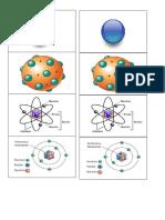 Dibujos a Recortar Atomos