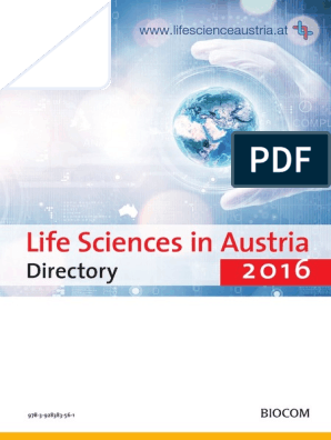 Vdocuments mx Life Science Directory Austria 2016