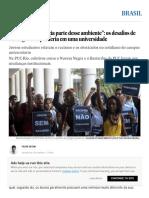"""""""Sentia Que Não Fazia Parte Desse Ambiente""""_ Os Desafios de Ser Negro e Da Periferia Em Uma Universidade _ Brasil _ EL PAÍS Brasil"""
