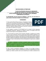 Resolución DGT-R-063-2018 Modificación del art 10 Res DGT-R-48-2016-Comprobantes electrónicos