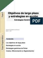8-17 Objetivos de LP y Estrategiasgenericas