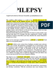 EPILEPSY BEST NATURAL THERAPY