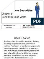 Chapter 9 Bond Prices and Yields0
