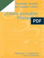 Cómo Estudiar Filología