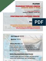 Masalah Jembatan. Keluarnya Tulangan