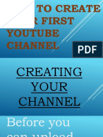 How to Create Your First Youtube Channel - Alvin Mapas - Valuable Video Visionary