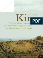 Mississippi -- David J. Hally - King_ the Social Archaeology of a Late Mississippian Town in Northwestern Georgia (2008)
