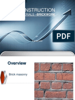 Cm on Brickwork