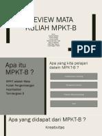 Review Mata Kuliah Mpkt-b