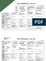 Timetable v 12019