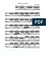 14611972 Sheet Music Piano Sinding Rustle of Spring