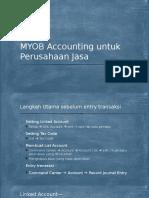 2. MYOB Accounting Untuk Perusahaan Jasa