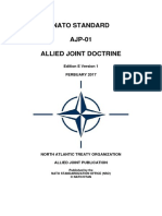 Ajp-01 Allied Joint Doctrine