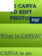 How to Use CANVA for Your Social Media Photos - Alvin Mapas - Valuable Video Visionary