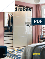 In-store Range Brochure Wardrobe en In
