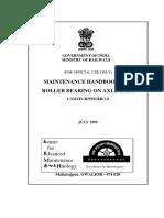 Maintenance Handbook on Roller Bearing on Axle & TM(2)