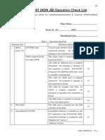 JUE-501 251 checklist v1.1
