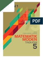Buku Modmaths f5 Modul 1 2018