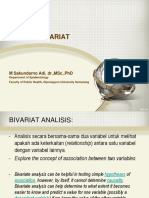 2016 S2 Biostatistik Bivariate Analysis