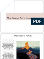 Most Famous Volcanoes
