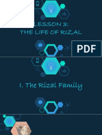 3. LIFE OF RIZAL