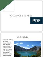 Volcanoes in Asia