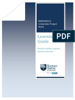 BSBPMG522A Learning Guide V1