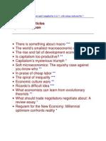 Economics Articles by Paul Krugman