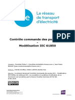 Controle Commande Des Postes Rte - Modelisation Iec 61850