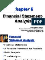 Financial Statement Analysis , Mba 3