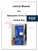 Absorption in Packed Bed Lab Manual