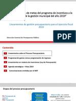 Presupuesto Publico 2019