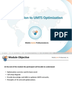 01 Introduction to UMTS Optimization