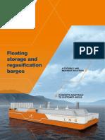 Floating Storage and Regasification Barges 2017 Wartsila
